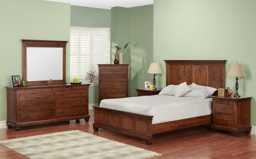 florentino cherry bedroom suite brices furniture