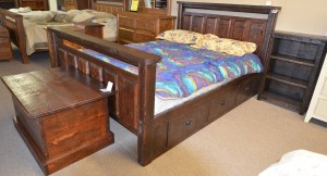 Bevelled Condo Bed