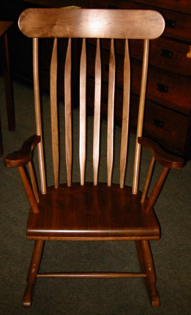 Maple Grandfathers Rocking Chair – Brices Furniture
