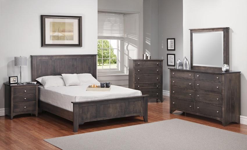 shaker bedroom suite brices furniture