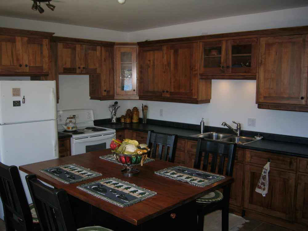 Wormy Maple Kitchen - Brices Furniture